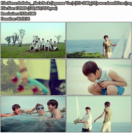 Download PV Infinite - She's Back (Japanese Version)  (Full HD 1080p)