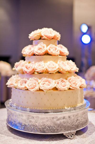 идеи украшения торта розы