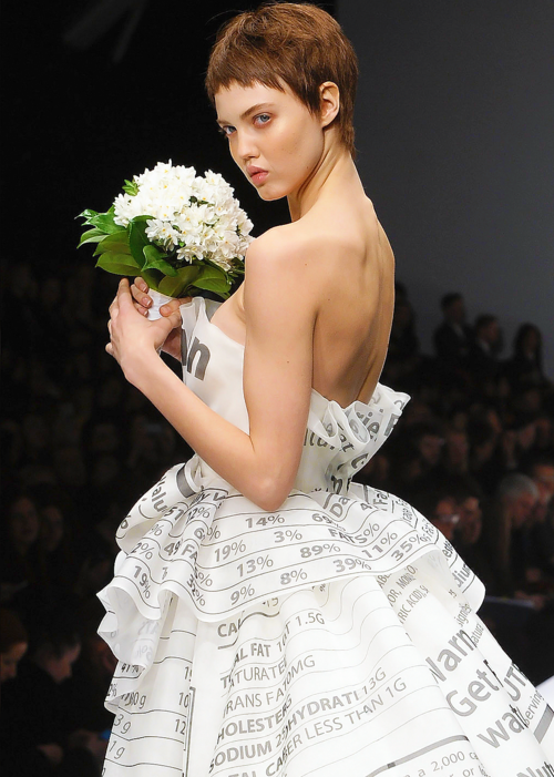 style inspiration, style inspo, moschino, moschino 2014, f/w fashion, nutritional information, dream dress, vogue