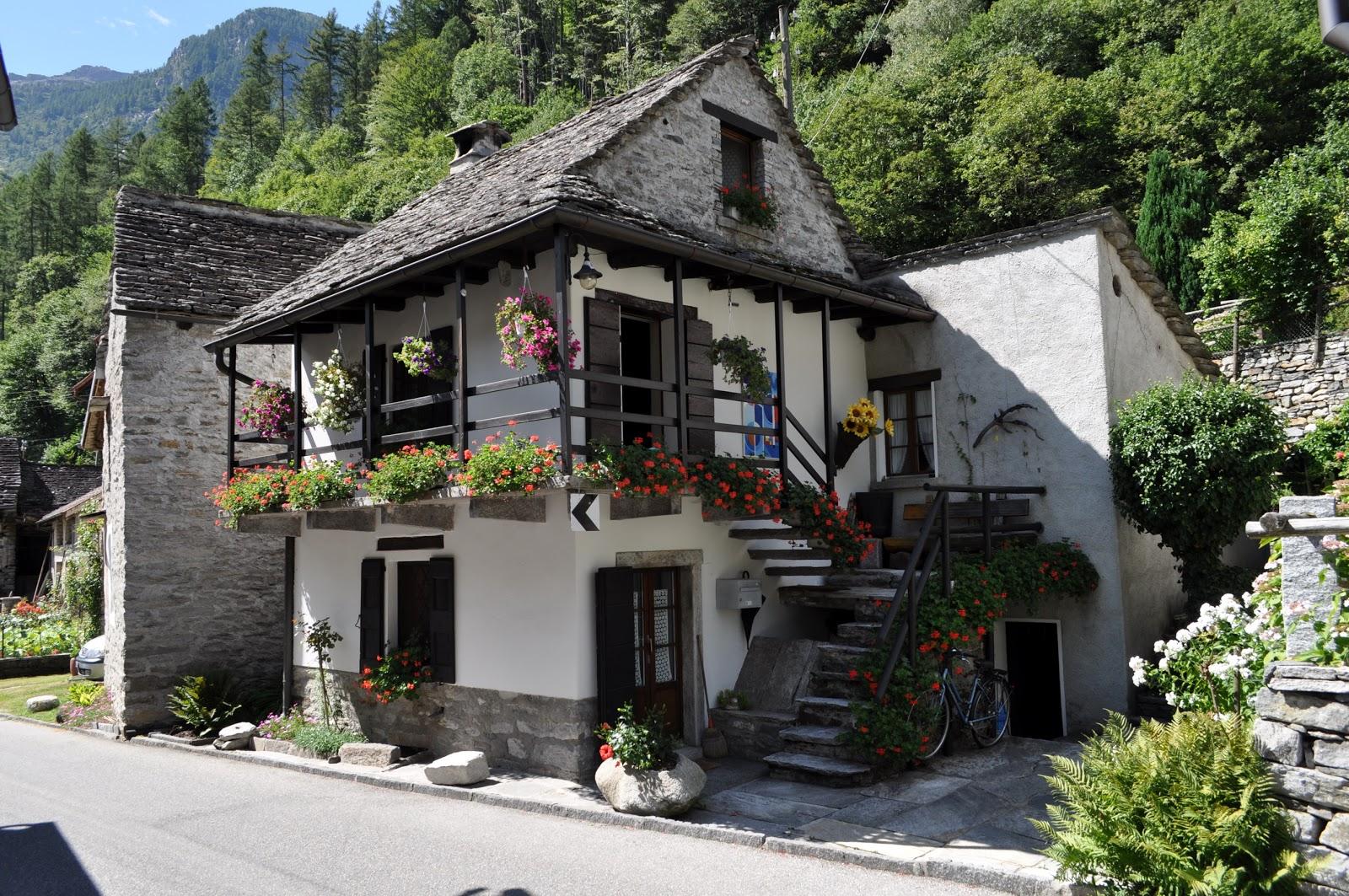 Дом в швейцарии фото
