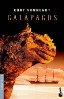 "Portada de ""Galápagos"", de Kurt Vonnegut"