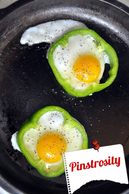 Bell Pepper Egg Flowers Recipe — Dishmaps
