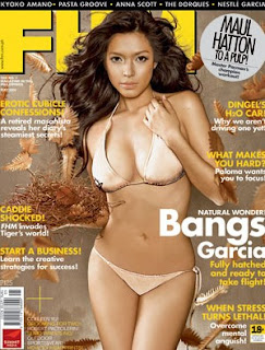 valerie garcia, bangs, filipina, fhm