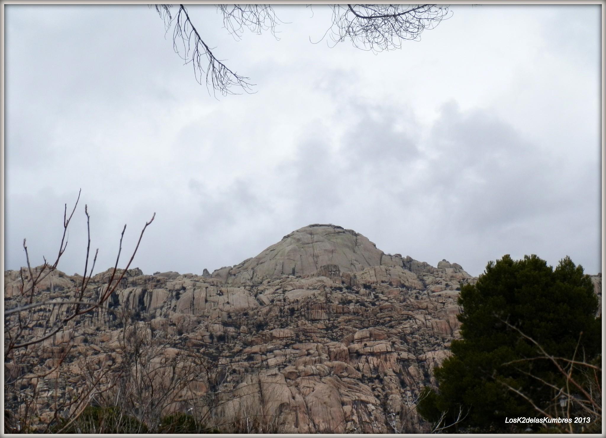 El Yelmo, 1.717 m en la Pedriza