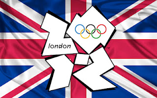 2012 London Olympics Logo With UK