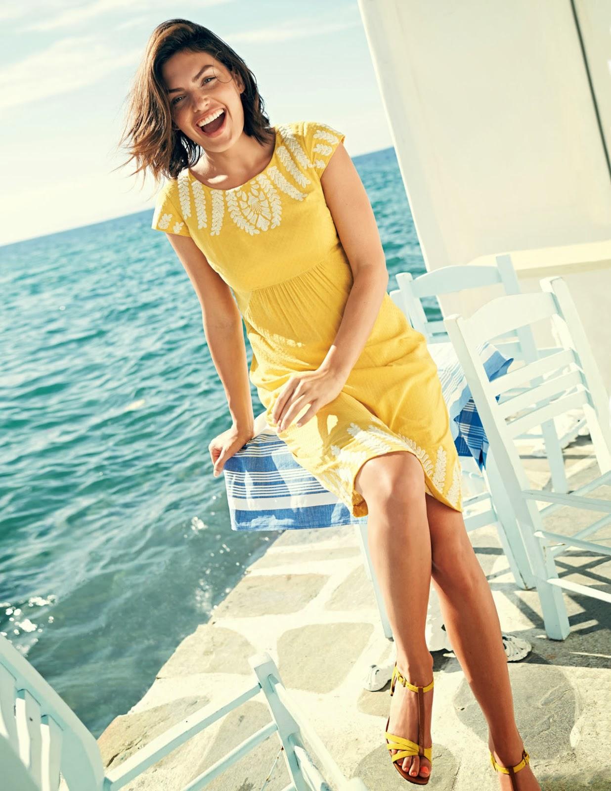 Boden Ss 2014 Model Alyssa Miller Fashion Gossip