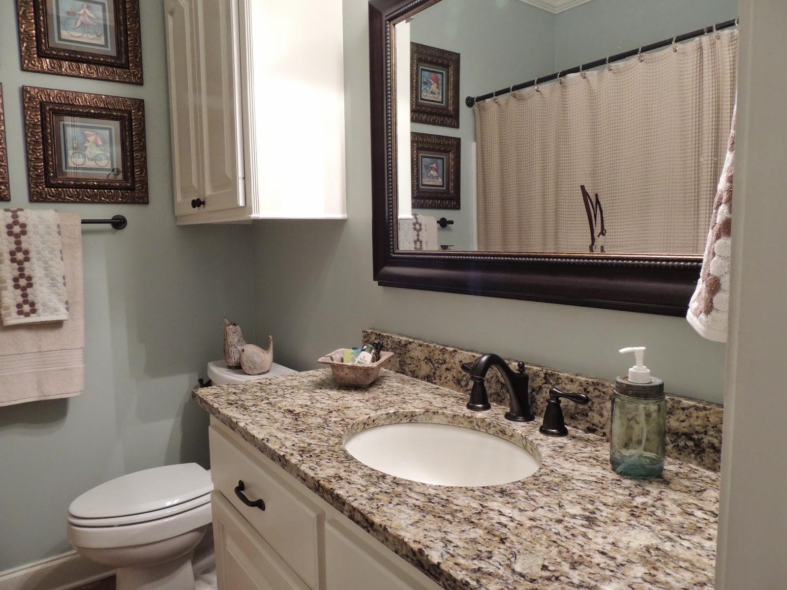 Buttercup Bliss Guest Bathroom Renovation - Guest bathroom renovation
