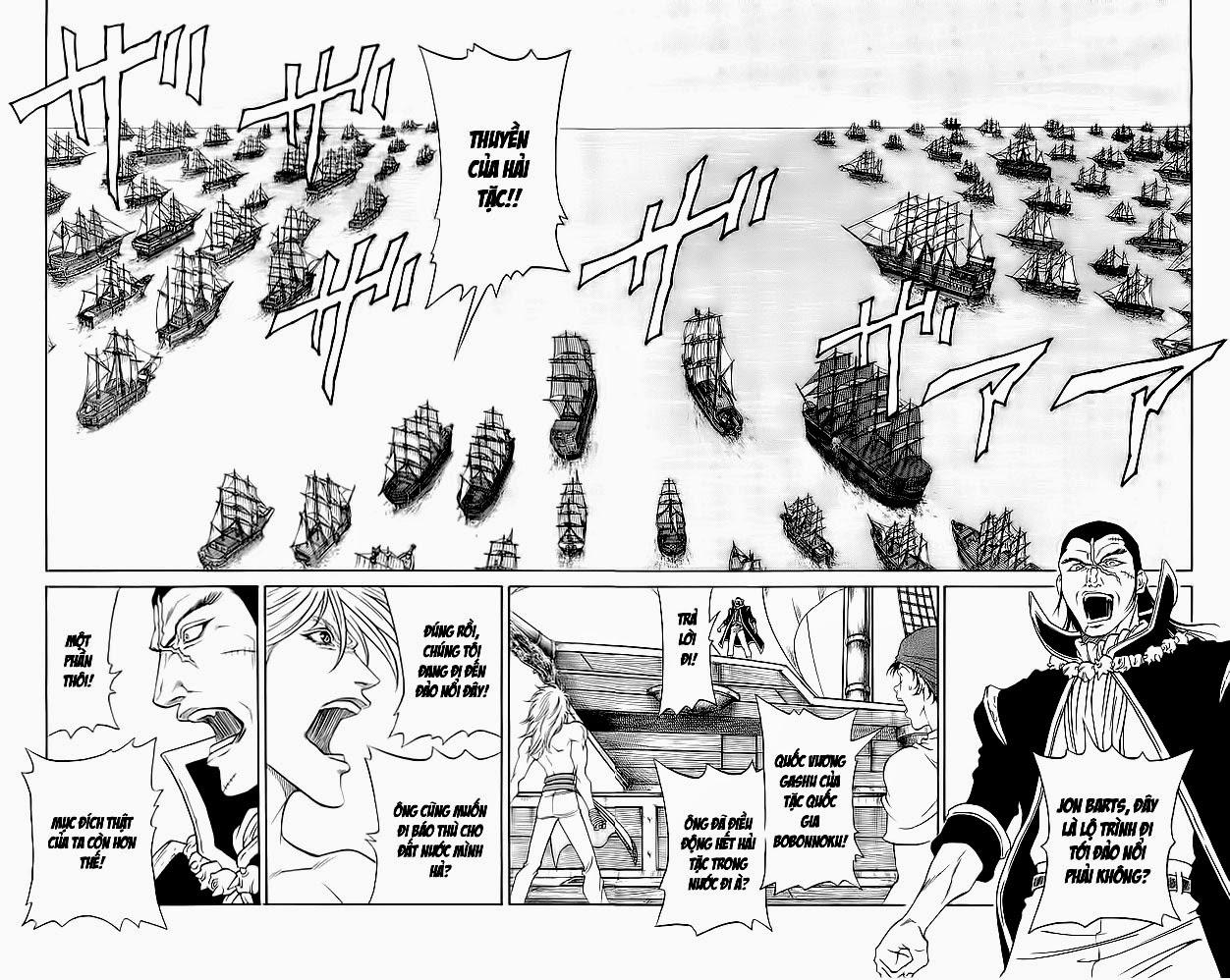 Vua Trên Biển – Coco Full Ahead chap 220 Trang 8 - Mangak.info