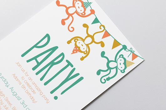 30 More Modern Birthday Invitation Card Designs JayceoYesta