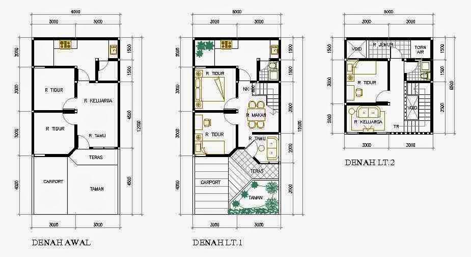 Contoh Gambar Desain Rumah Minimalis Type  Desain Rumah Minimalis Terbaik