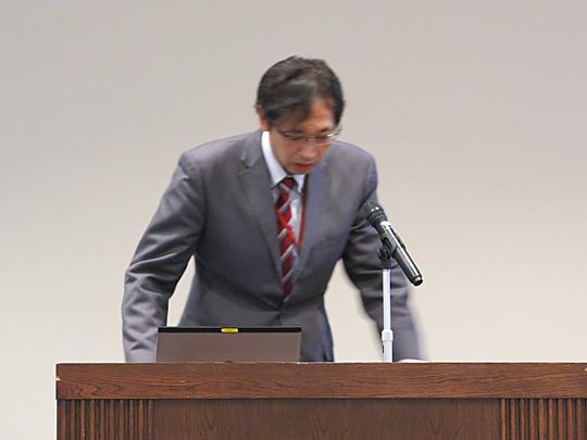NTTデータの横尾朋喜氏