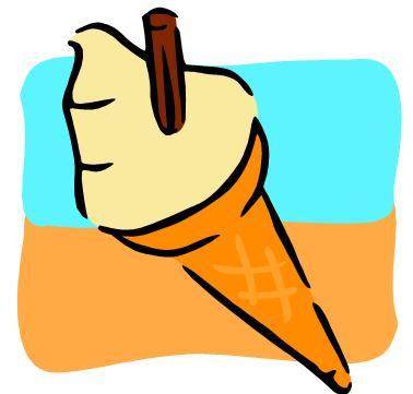 An ice-cream
