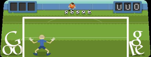 Futebol Doodle Google Games