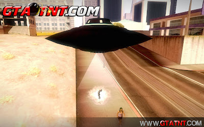 GTA SA - Mod ET com poderes (I Want To Believe)