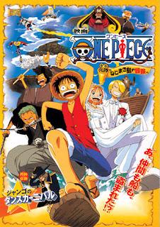 One Piece Filme 2 - Aventura na Ilha Nejimaki!