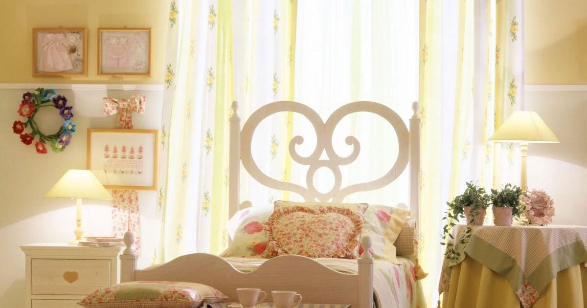 Casa romantica e country e shabby e chic letto country chic - Casa romantica shabby chic ...