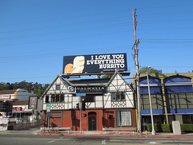 Adventure Time everything burrito billboard