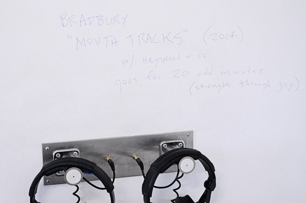 Garry Bradbury - Mouth Tracks (2004) - Sound Work - SNO 85