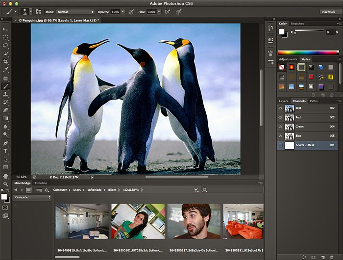 Adobe Photoshop CS6 Coming with a new features