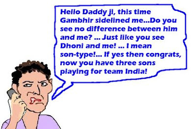 Gambhir to captain India in West Indies, Yuvraj ignored again!