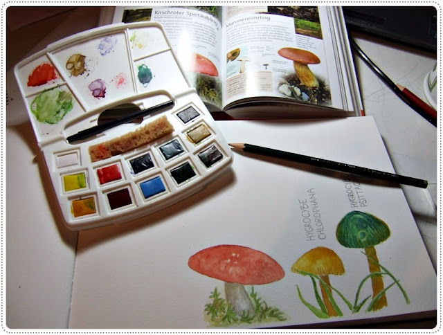 inspiration nature watercolor
