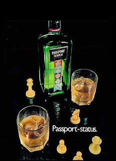 Whisky Passport, 1972; os anos 70; propaganda na década de 70; Brazil in the 70s, história anos 70; Oswaldo Hernandez;