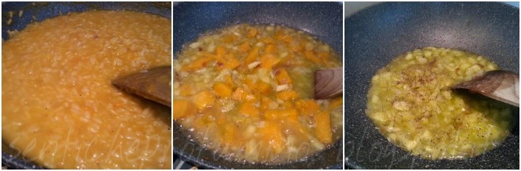 Risotto mele, zucca e Balsamico Tradizionale
