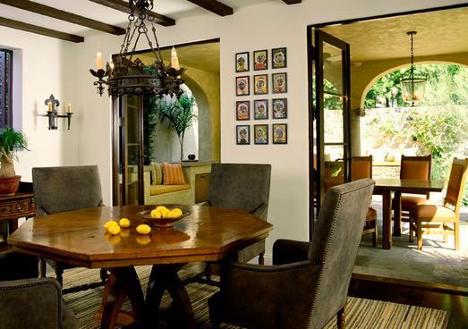 Fotos de comedores decoracion comedor for Comedor hexagonal