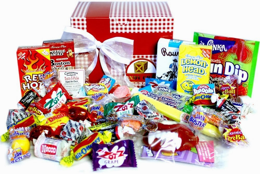 Valentine Nostalgic Candy Gift Box