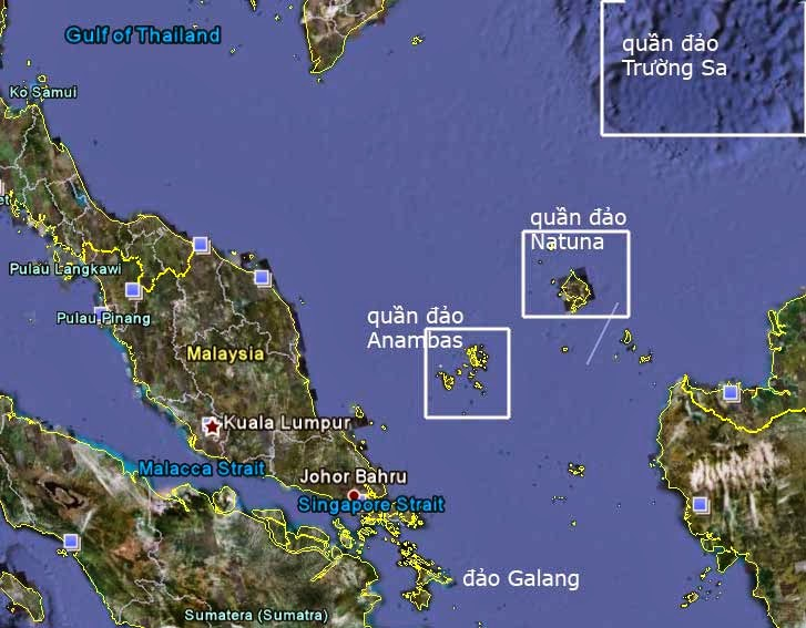 Anambas Islands South China Sea
