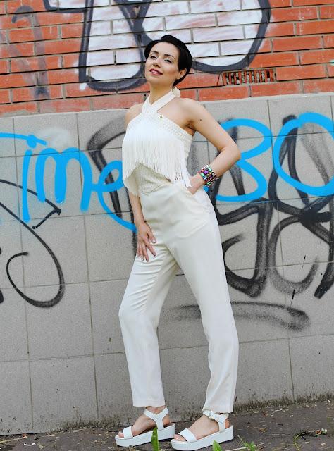 Anna Melkumian, Elisabetta Franchi, fashion, H&M, Анна Мелкумян, Браслет, Комбинезон, Сандалии Next.com.ru, модный блогер, fashion blogger, moscow, москва