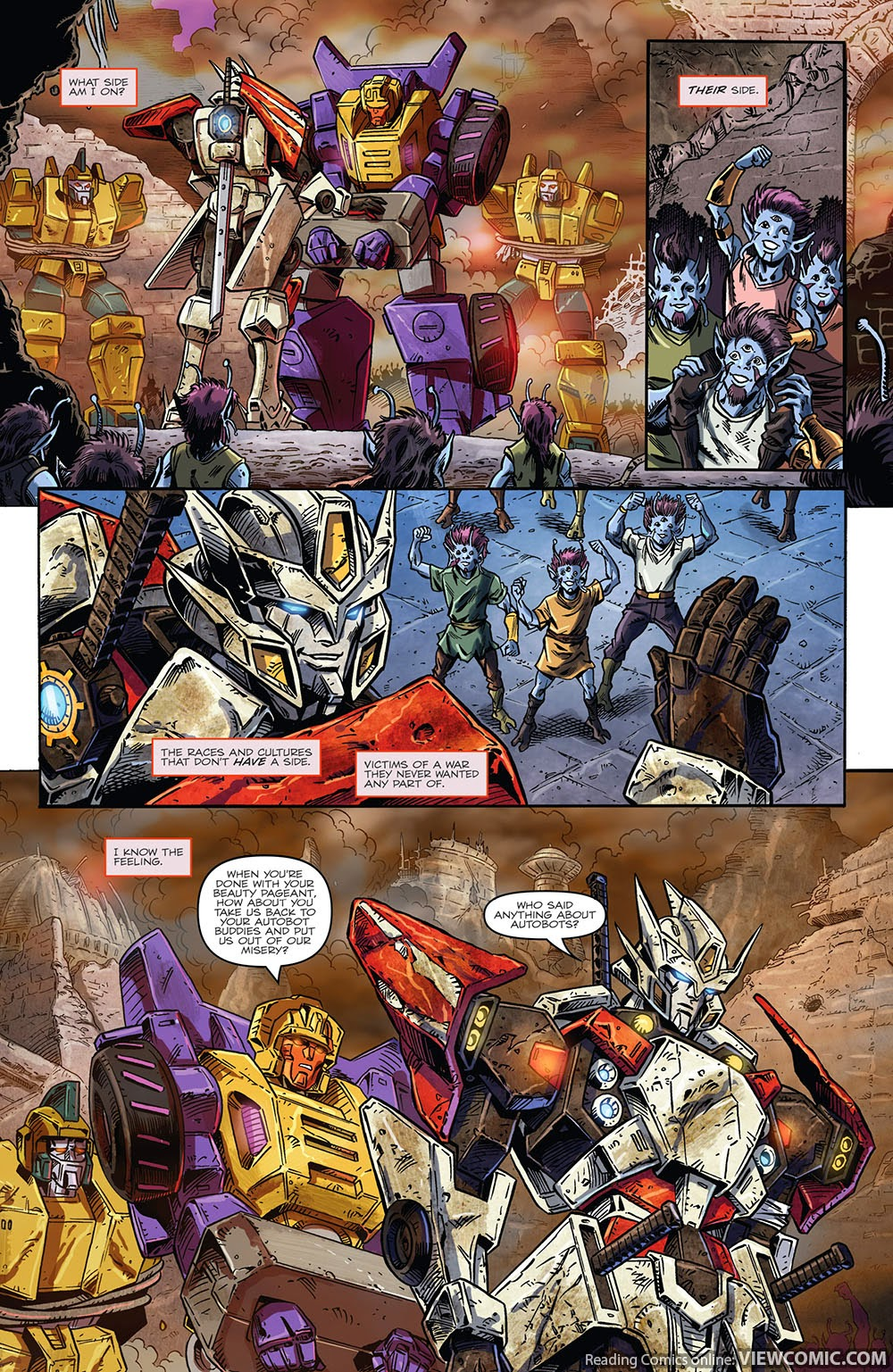 the transformers drift empire of stone 01 2014 view comic