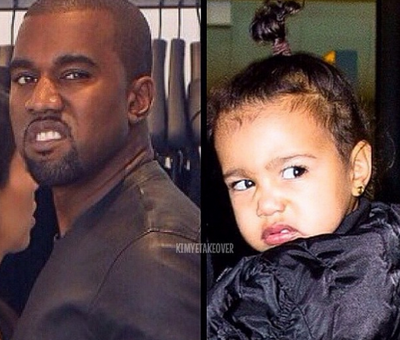 kanye west north west paparazzi
