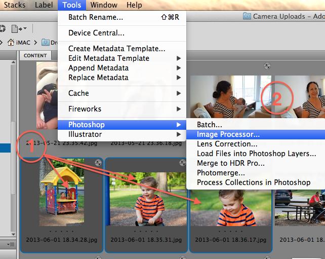 CompuTips Blog  How to Batch Resize Images with Adobe Bridge. Batch Resize Photoshop Cs4. Home Design Ideas