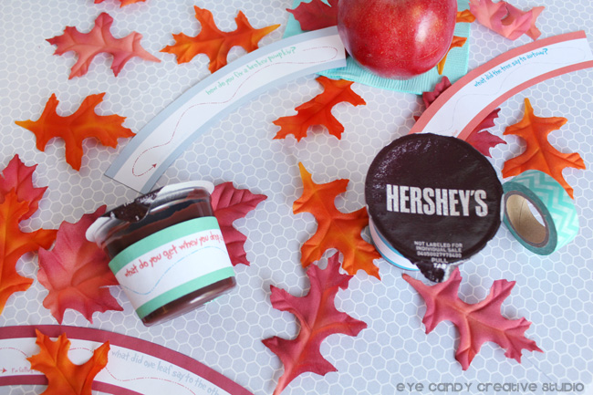 lunchbox ideas, after school snack ideas, hershey's, joke wraps for pudding