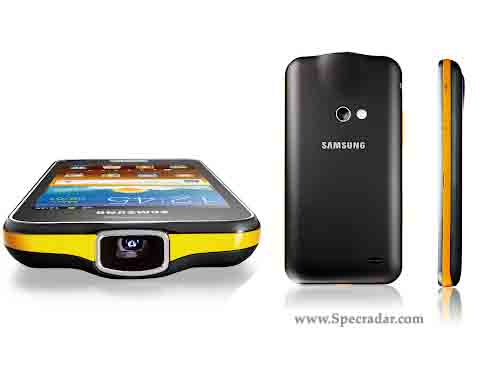 Samsung Galaxy Beam Price and Review, Built in Projector ! ~ Specradar