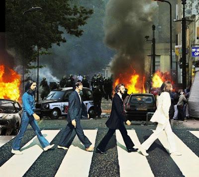 ロンドン暴動