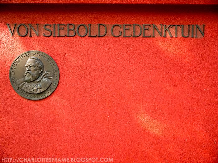 Von Siebold Gedenktuin