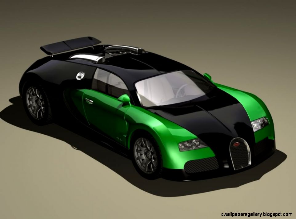 Bugatti Veyron Neon Green Bugatti  Design Download