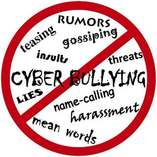 cyber bullying adalah tindak kekerasan atau intimidasi yang terjadi lewat dunia maya