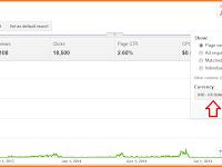 Merubah Mata Uang Dollar Menjadi Rupiah Di Dasboard Google Adsense