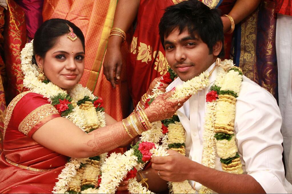 Gvprakash And Saindhavi Wedding 05
