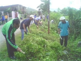 Sambut HUT ke-9 Kobi, Warga Jatiwangi Begotong Royong