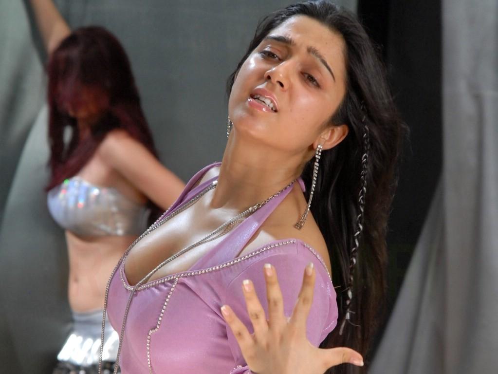 Charmi sexy boobs
