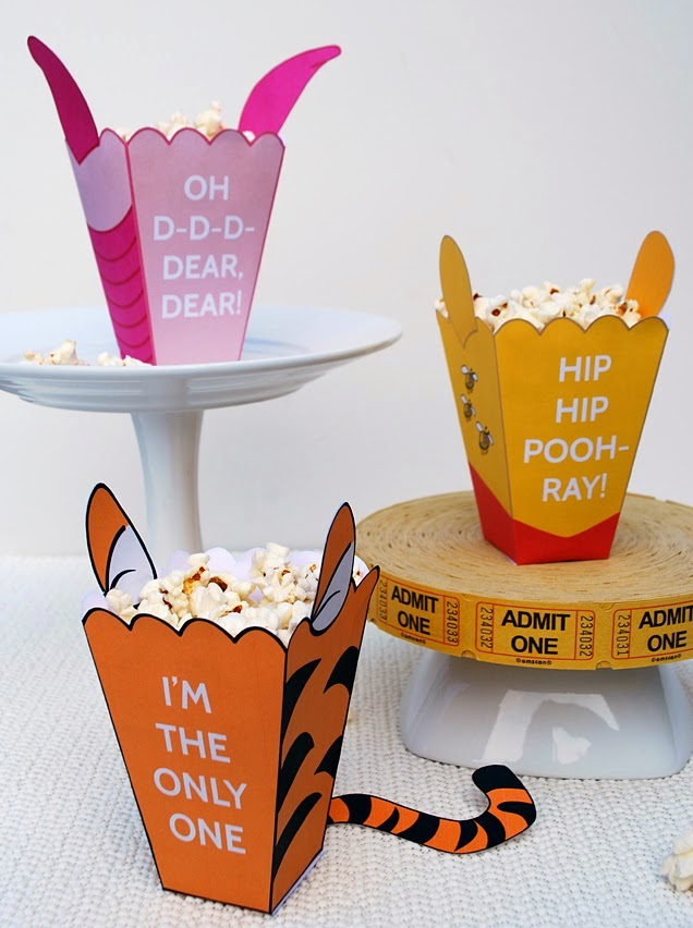 Пакеты для попкорна своими руками