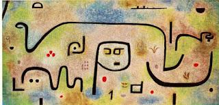Paul Klee painting - Insula Dulcamara