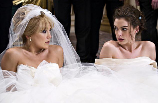 Kate Hudson, Anne Hathaway, matrimonio
