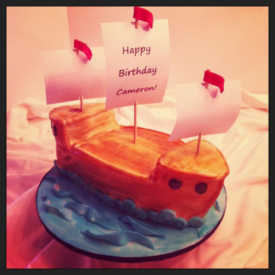 Cakes By Becky Pirate Ship Birthday