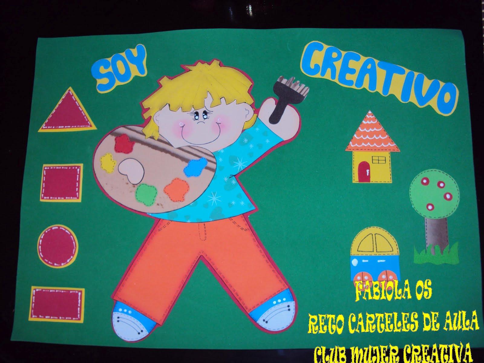 Cartel Escolar   Soy Creativo