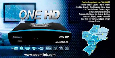 Atualizacao do receptor Tocomsat Net One HD V